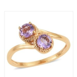 Jewelry - 💍💜- Amethyst 14K YG Over Sterling Silver
